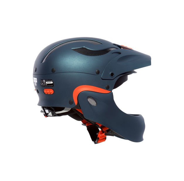 Kask SWEET Protection Rocker Full Face - pomarańczowy