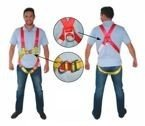 Vestype Safety Harness, w/D-ring LALIZAS