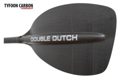 Double Dutch. TYFOON carbon. Wiosło górskie L