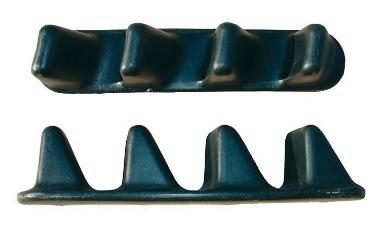 Komplet podnóżkow typu zęby piły