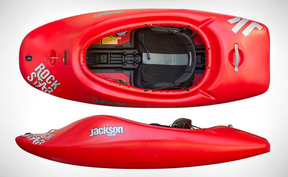 OSTATNI Jackson Kayak RockStar 2014 (jednoosobowy kajak rodeo, freestyle)