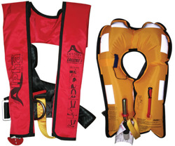 LALIZAS Alpha Inflatable Lifejackets 170N MANUAL without harness  71101